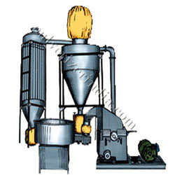 Section View of Automatic suction Pulveizer