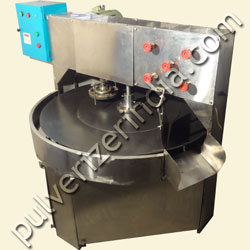 rotary indexing type semi automatic chapati machine