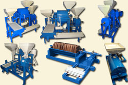Grains, Pulse Processing plants & machines
