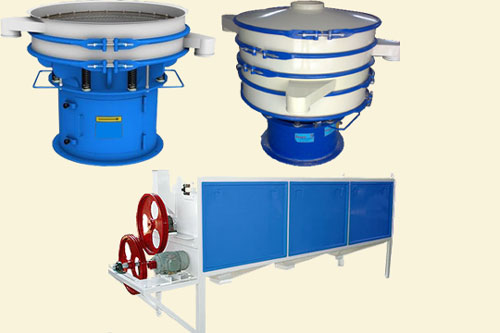 Screening equipment and Machines